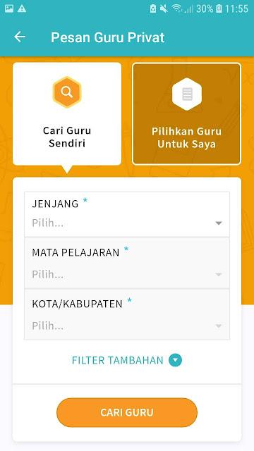 Guru les Privat Semarang, Cari saja di Ruang Guru