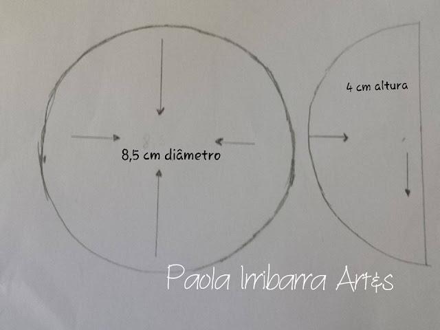 MOLDES DE BONECAS LALALOOPSY EM FELTRO