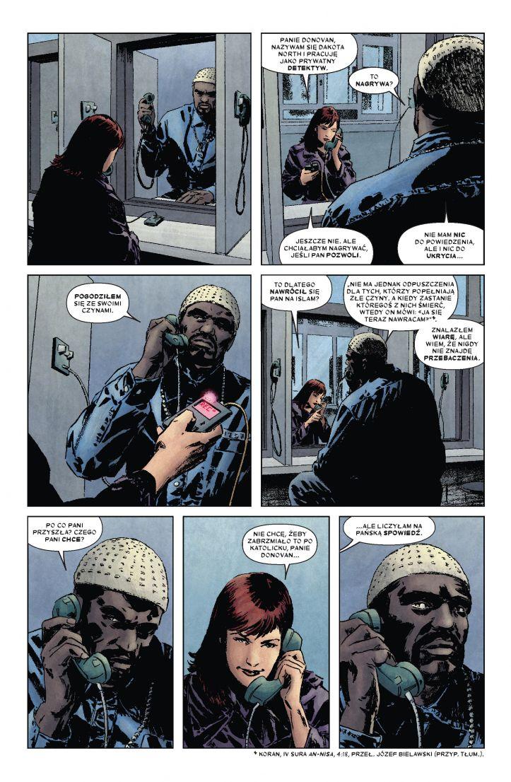 Daredevil tom 6: Nieustraszony! przykładowa strona
