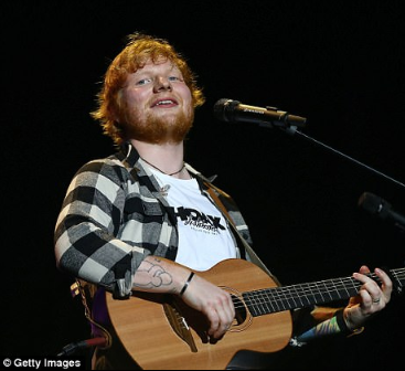 Ed Sheeran climbs the Sunday Times Rich List after earning more money than any other British musician this year