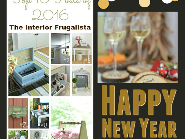 Top 10 Posts of 2016 | The Interior Frugalista