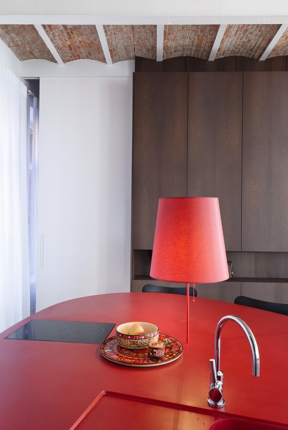 Cozinha com Uma cascata de luz 2