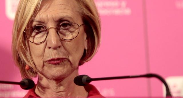 Graves críticas a Rosa Díez tras un bochornoso comentario en Twitter