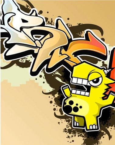 Graffiti Cartoons  Best Graffitianz