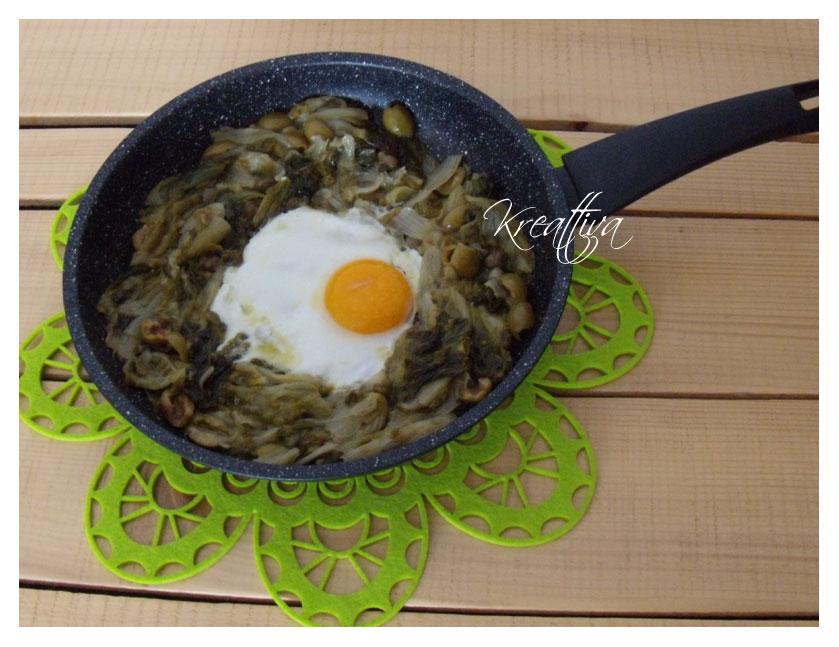 ricetta uovo al tegamino