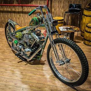 Custom Chopper Keren Banget Nih !!