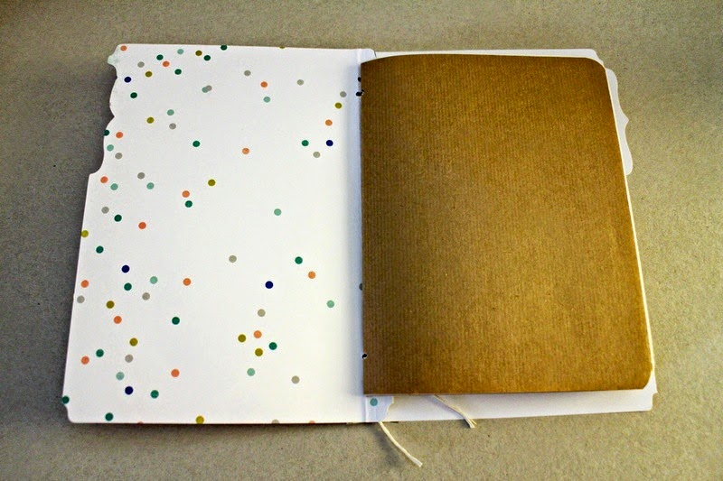 DIY Sketchbook Tutorial aus Memory Files von Martina für www.danipeuss.de