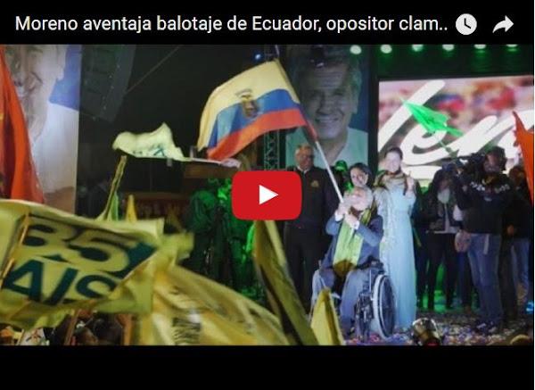 "Fraude en Ecuador, da la ""victoria pírrica"" a candidato de Correa"
