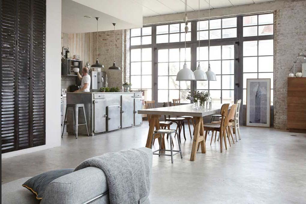 Casa in stile industriale e romantico a lille arc art for Appartamento design industriale