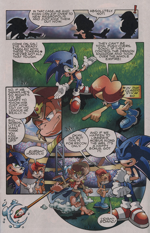 Read online Sonic The Hedgehog comic -  Issue #201 - 16