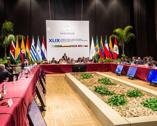 Venezuela anuncia a través de una carta que asume la presidencia del Mercosur