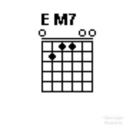 Chord gitar EM-7