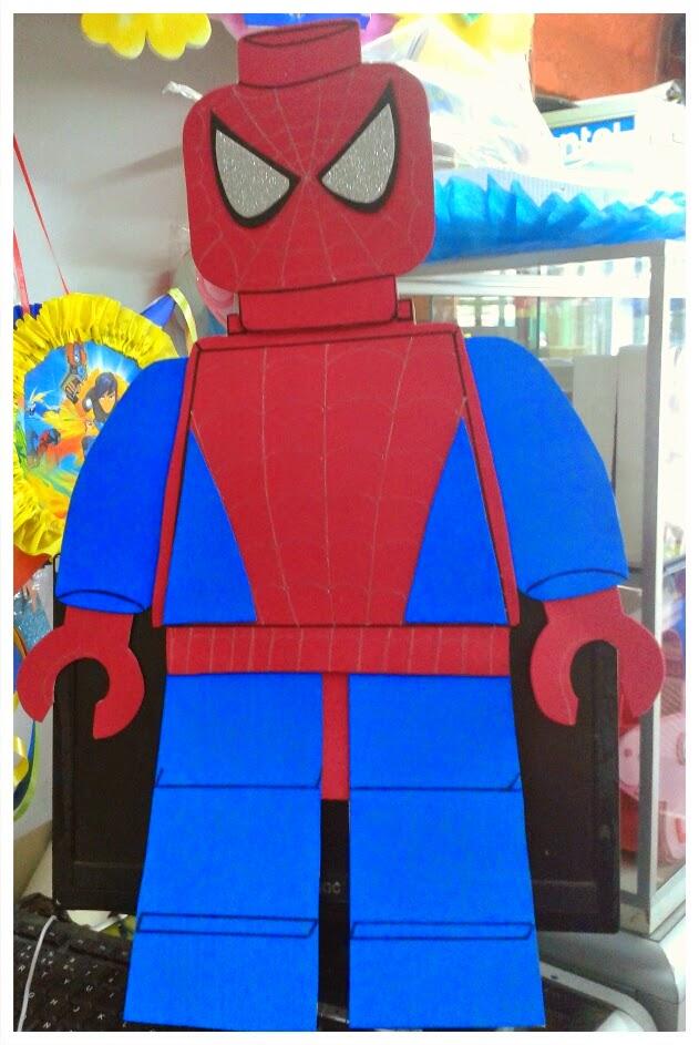 Figuras lego batman spiderman y capitan america - Spiderman batman lego ...