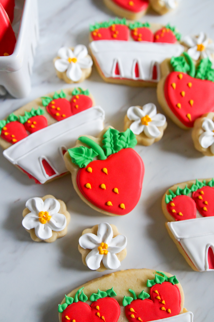 Strawberry Basket Cookies