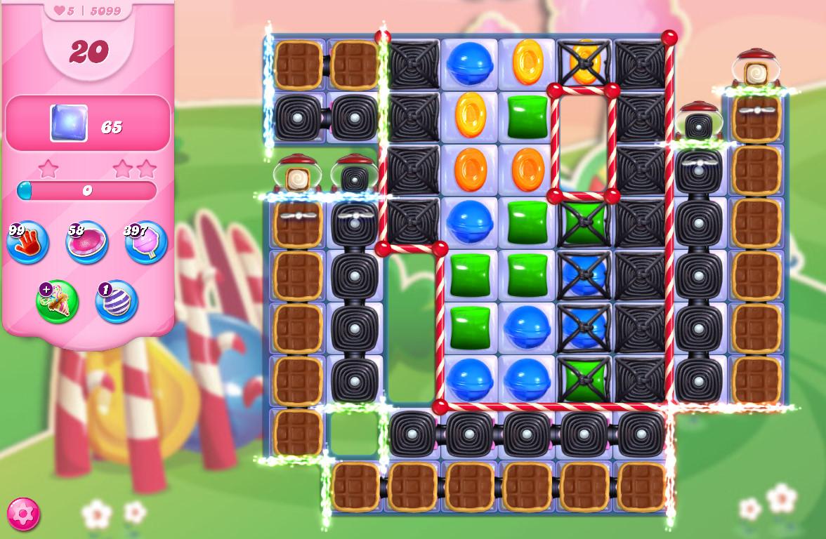 Candy Crush Saga level 5099