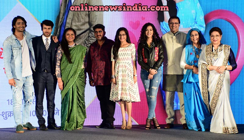 Cast of Yeh Rishtey Hain Pyaar Ke along with Producer Rajan Shahi