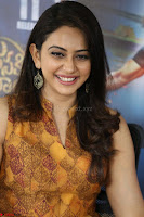 Rakul Preet Singh smiling Beautyin Brown Deep neck Sleeveless Gown at her interview 2.8.17 ~  Exclusive Celebrities Galleries 199.JPG