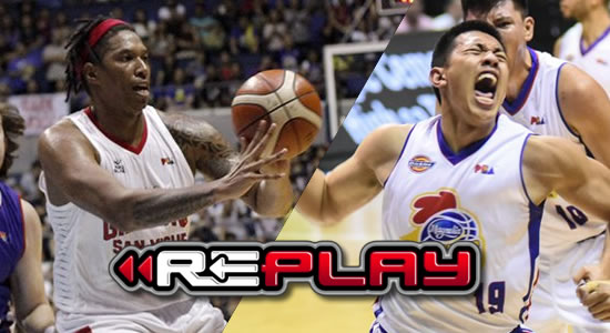Video Playlist: Ginebra vs Magnolia Game 4 replay 2018 PBA Governors' Cup
