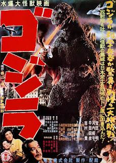 Poster original Godzilla 1954