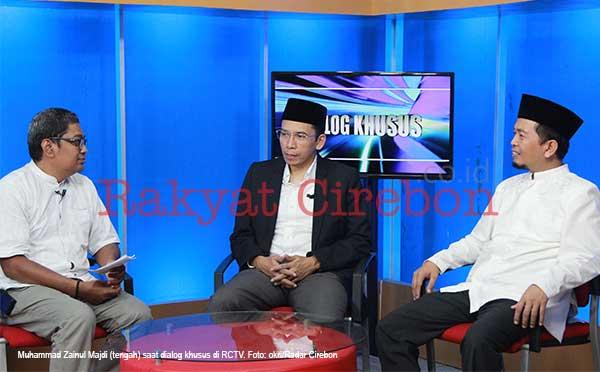 gubernur ntb muhammad zainul majdi dialog khusus di rctv