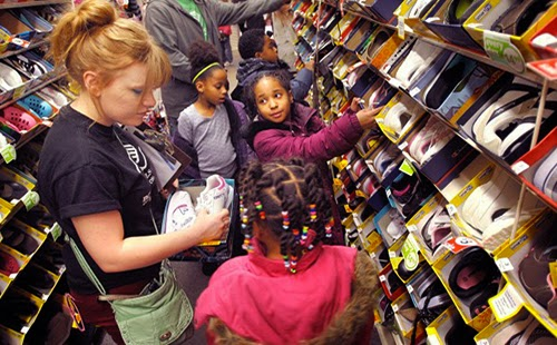 Payless Gives Shoes 4 Kids