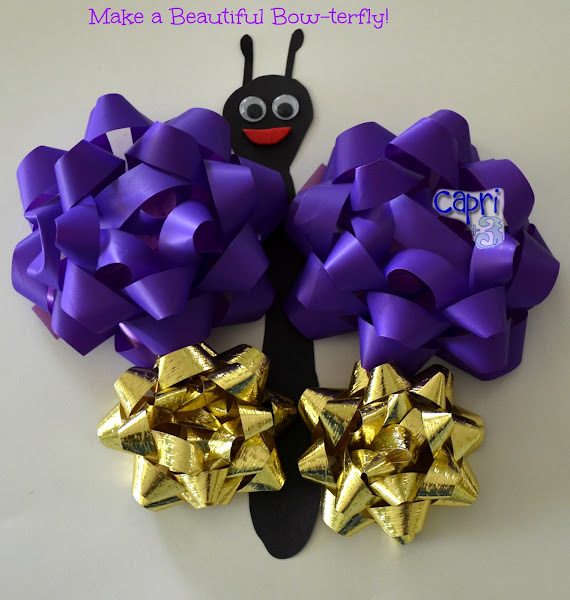 Bow-terfly Butterfly Craft