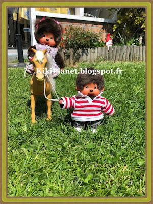 cheval, monchhichi, diana, kiki, bebichhichi, équitation, toyslife, vintage