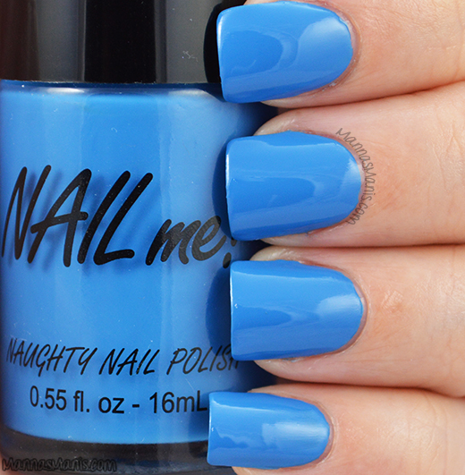 Nail Me blue me good swatches
