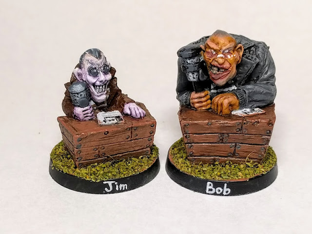 Jim and Bob - the voices of Blood Bowl