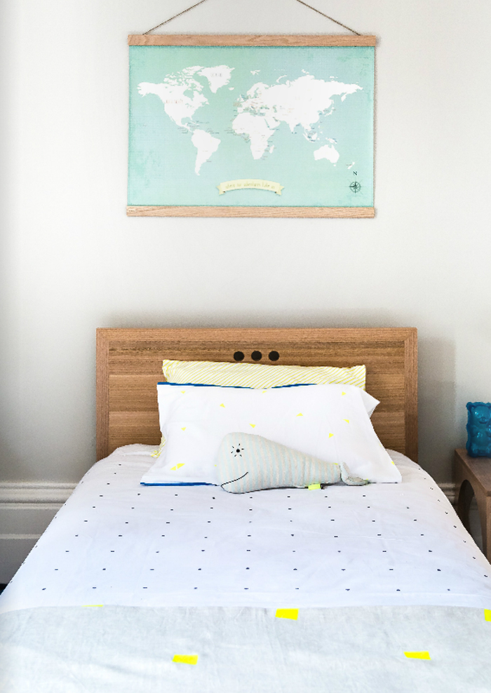 Boy's room created by Jacinda Malloy - Hidesleep in Mintymagazine - Australia