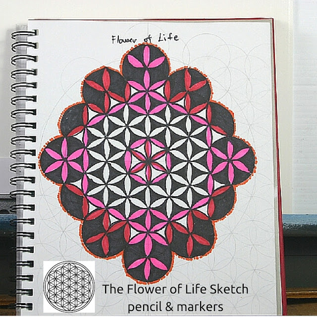 Flower of Life. First sketch.