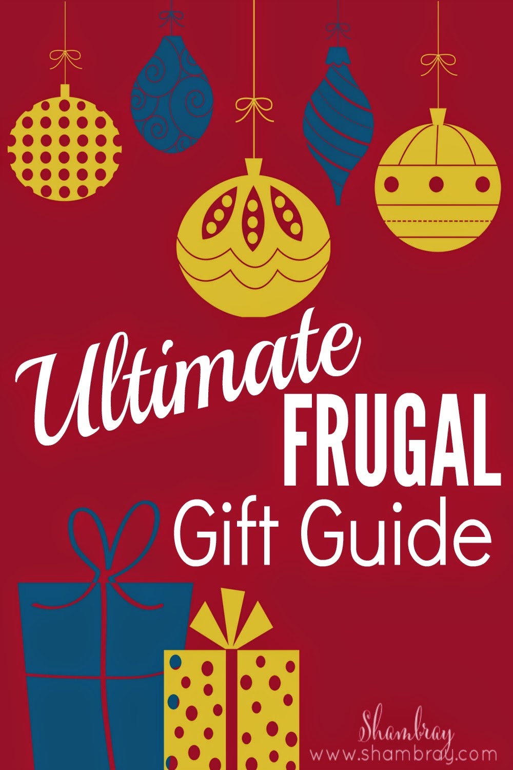 The Ultimate Frugal Christmas Gift Guide