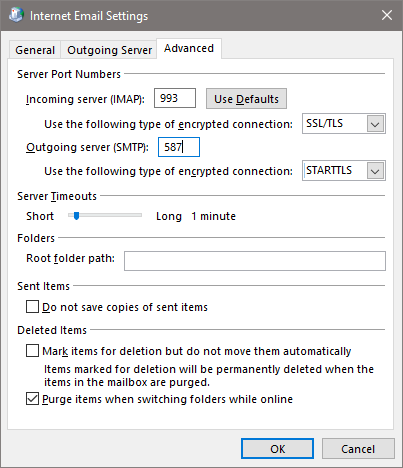 Outlook Encryption Type Error with Office 365