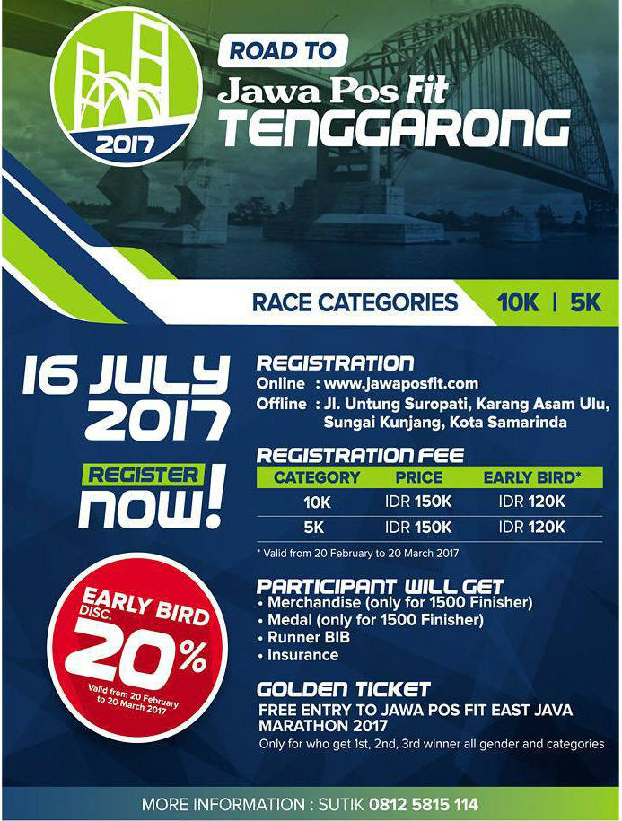 Road To Jawa Pos Fit - Tenggarong • 2017
