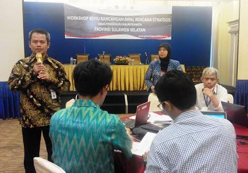 Rencana Strategis Pendidikan Enam Kabupaten di Sulsel akan Direvisi