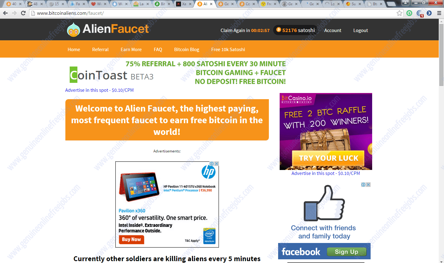HOW TO WORK ON BITCOIN FAUCETS | TECHNIQUES TO EARN MORE ON FAUCETS ...