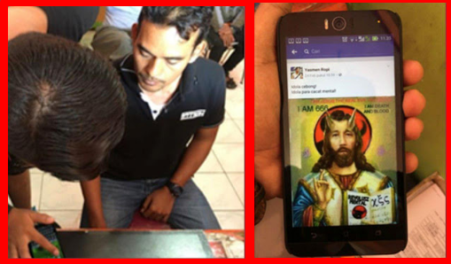 Ini Wajah Penyebar Meme Penghina Presiden Jokowi di Facebook