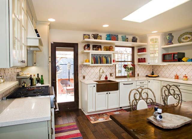 Small kitchen design country style. small country style kitchen ...