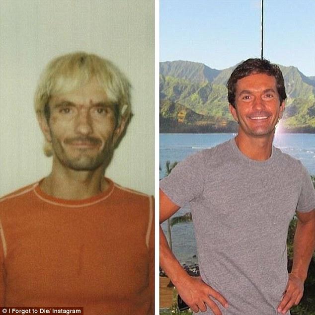 Indigente adicto a la heroína cambió su vida a millonario