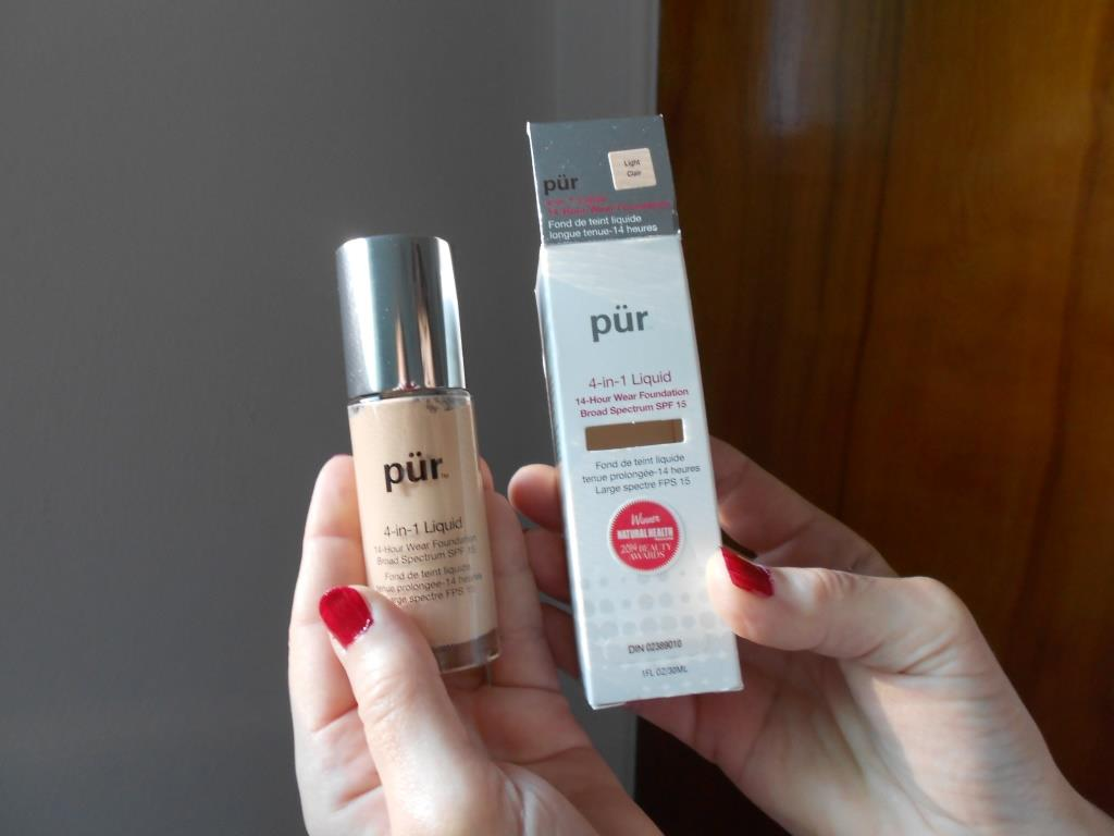 PUR  4-in-1 Liquid Foundation Light Clair