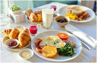 Menu Breakfast atau Sarapan Pagi Untuk Mendapatkan Energi yang Dibutuhkan Oleh Tubuh