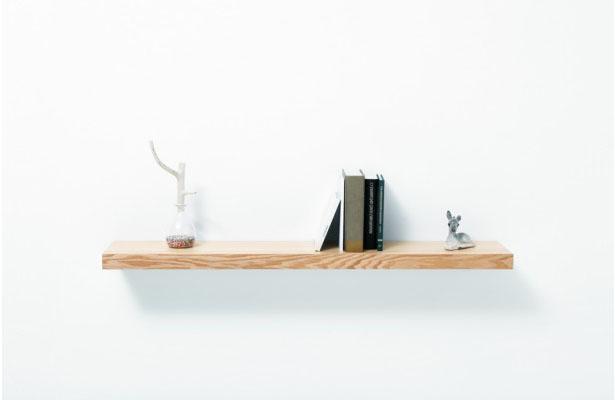Cajón y repisa ingeniosamente minimalista