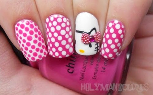Lindisima Blog Diseños De Uñas Con Hello Kitty