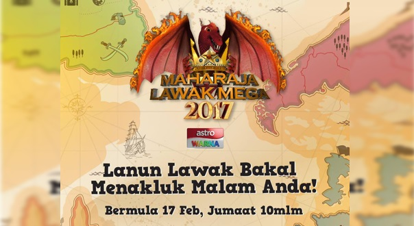 Live Streaming Maharaja Lawak Mega 2017 Minggu 8