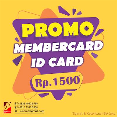 Cetak Promo Id Card Murah