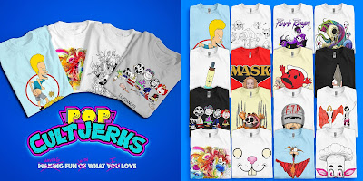 Pop CultJerks T-Shirt Collection by Alex Pardee