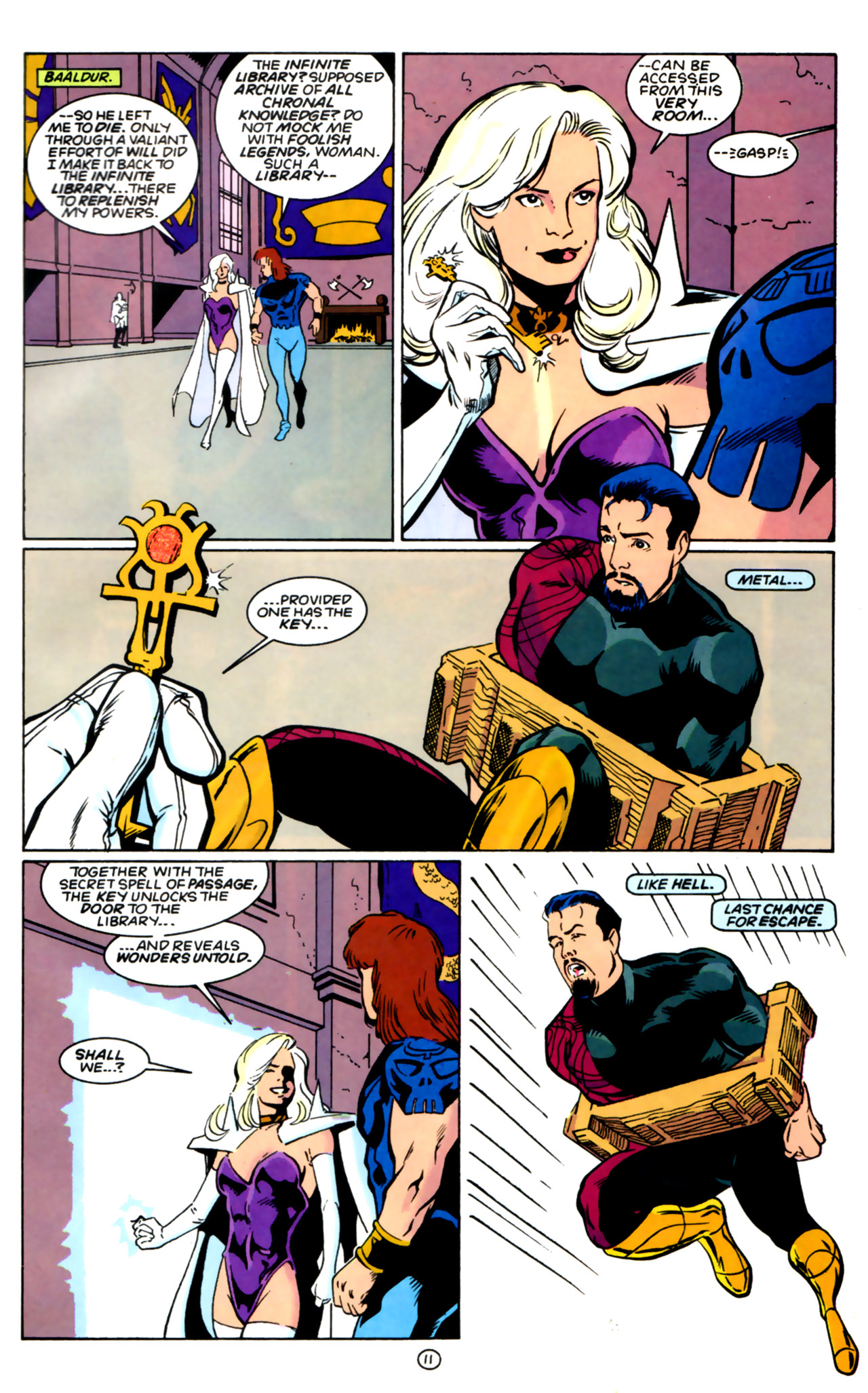 Legion of Super-Heroes (1989) 60 Page 11