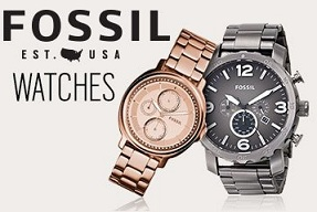 Fossil Watches @ Jabong – Flat 50% Off (Factory Surplus Stock) + Rs.100 Cashback VIA Paytm Wallet