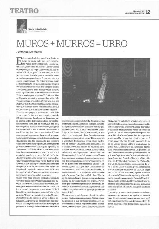 Artigo URRO