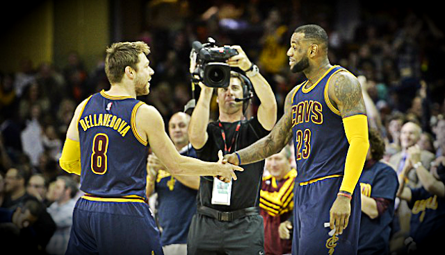NBA Finals: Cavs' Dellavedova steps-up, assists to tie ...